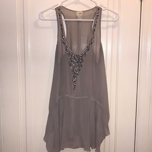 Day trip flowy tank top size size great condition